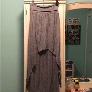 TOPSHOP high-low skirt